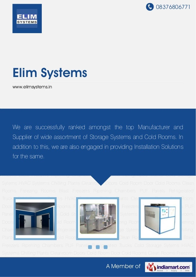 Example risk assessment for cold storage and distribution facilities
