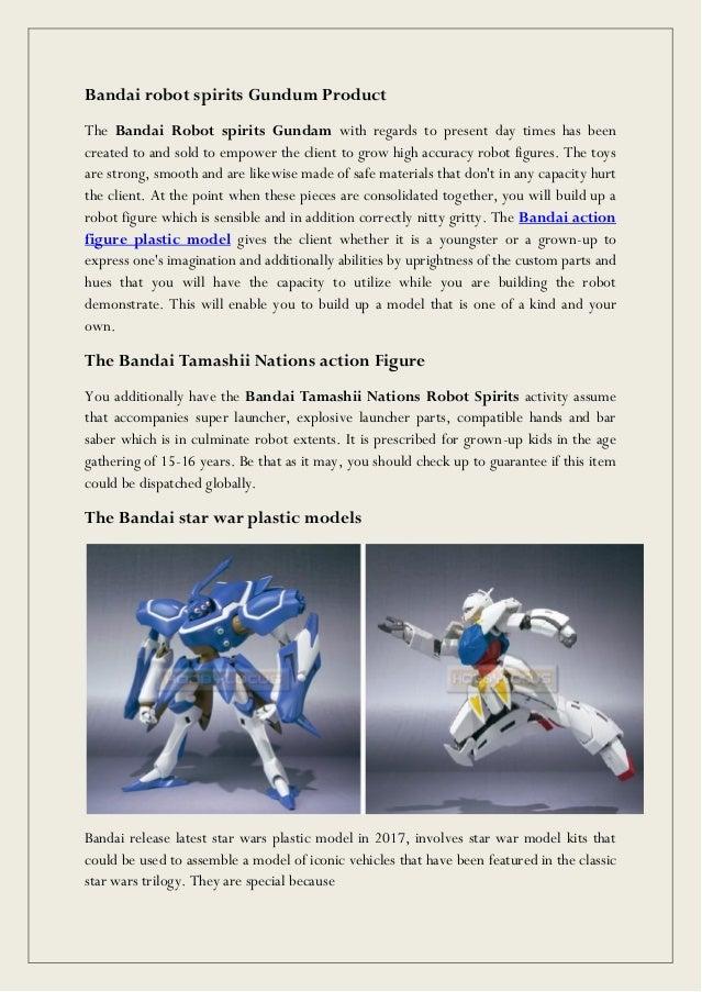 Bandai Robot Action Figure Plastic Toys Model Kits