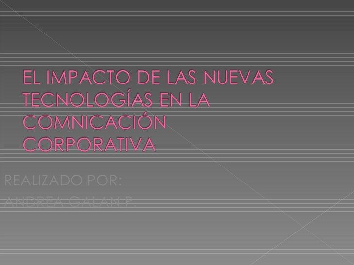 El Impacto De Las Nuevas TecnologíAs En La - photo#30