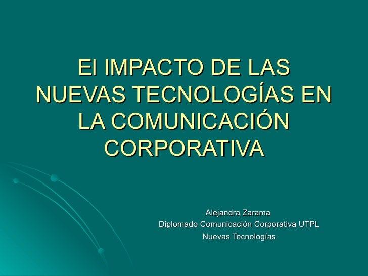 El Impacto de las Nuevas Tecnologías - photo#32