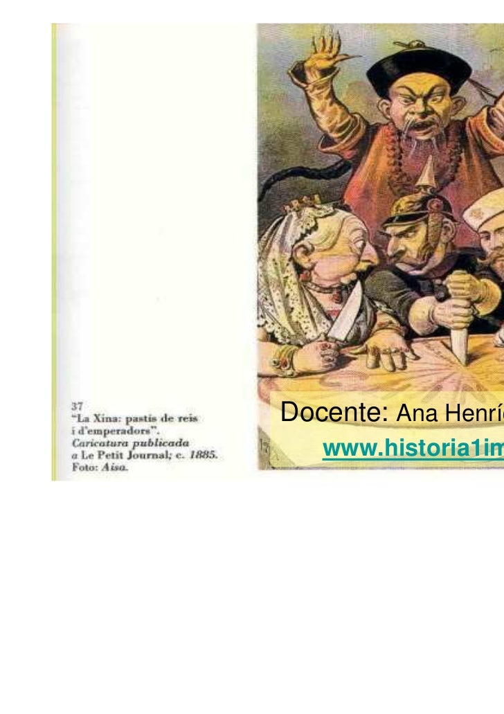 Docente: Ana Henríquez Orrego   www.historia1imagen.cl