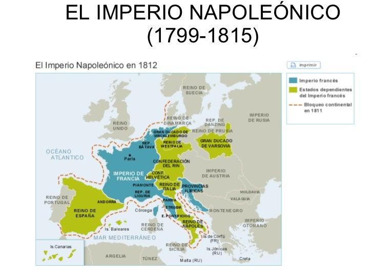 EL IMPERIO NAPOLEÓNICO (1799-1815)