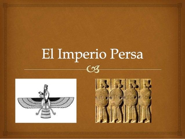 El Imperio Persa