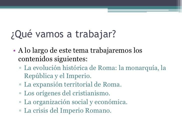 EL IMPERIO ROMANO Slide 2