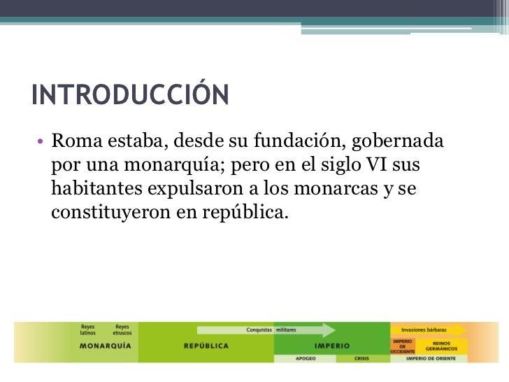 EL IMPERIO ROMANO Slide 3
