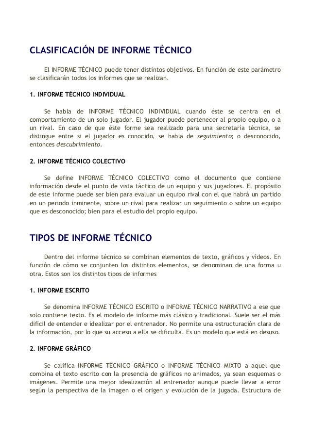 formato de informe en word - Pertamini.co
