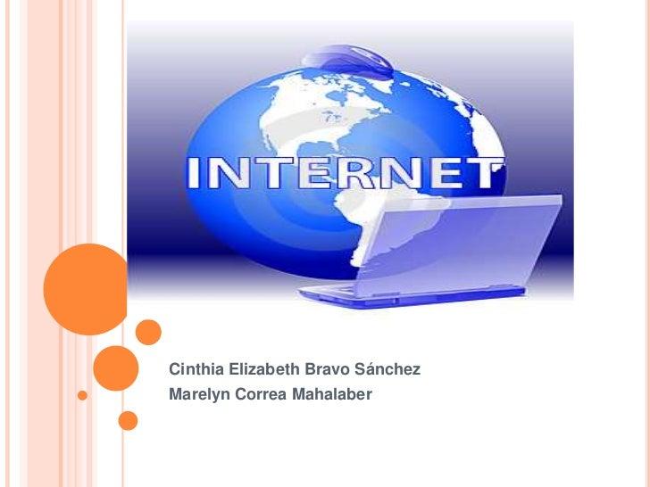 Cinthia Elizabeth Bravo SánchezMarelyn Correa Mahalaber