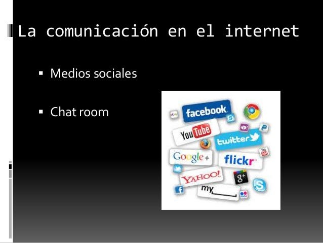  La mensajería instantánea o chat y el correo electrónico son algunos de los servicios de uso más usados.
