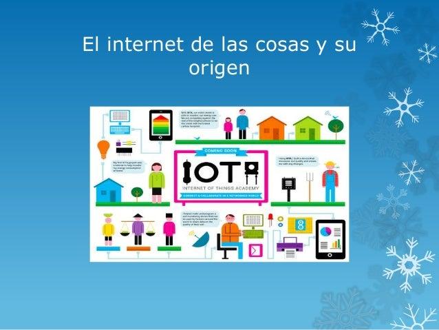 El internet de las cosas y su origen