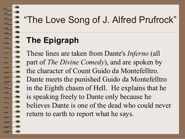 the love song of j alfred prufrock thesis The pitiful prufrock of the love song of j alfred prufrock - the pitiful prufrock of the love song of j alfred prufrock ts elliot's the love song of j alfred prufrock, is a melancholy poem of one man's frustrated search to find the meaning of his existence.