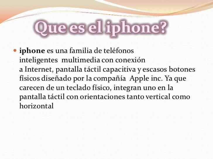 El iphone 5 Slide 2