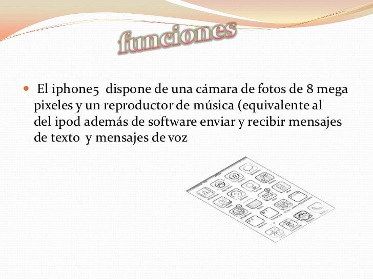 El iphone 5 Slide 3