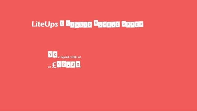 E liquid Sale Offers by LiteUps