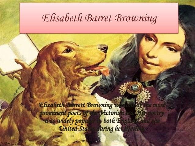 critical essay elizabeth barrett browning