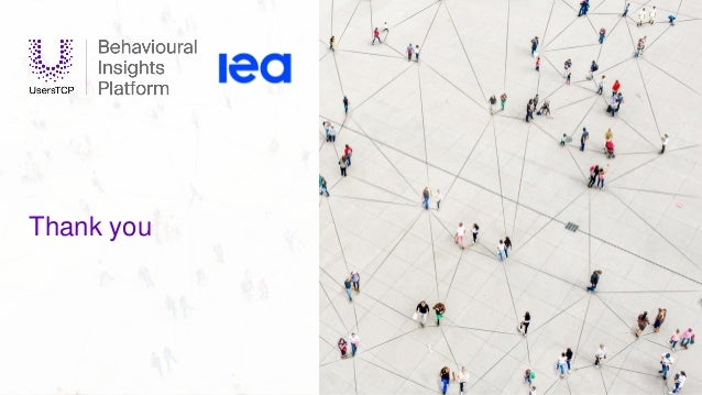 IEA 2020. All rights reserved. Thank you