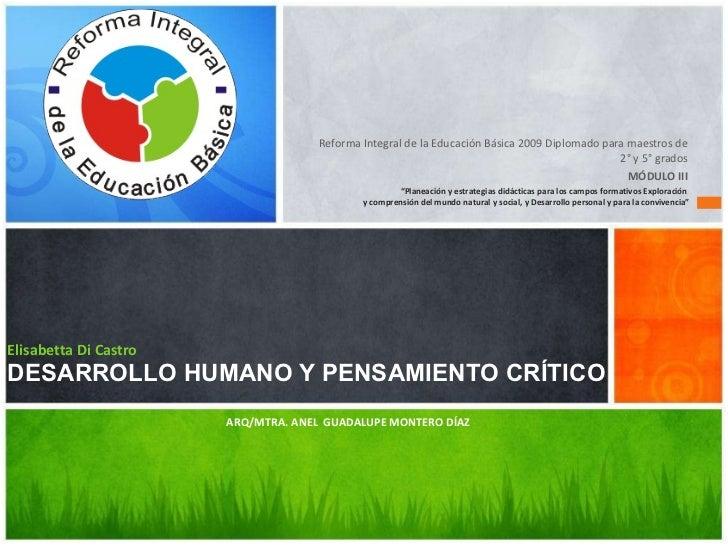 <ul><li>Reforma Integral de la Educación Básica 2009 Diplomado para maestros de 2° y 5° grados </li></ul><ul><li>MÓDULO II...
