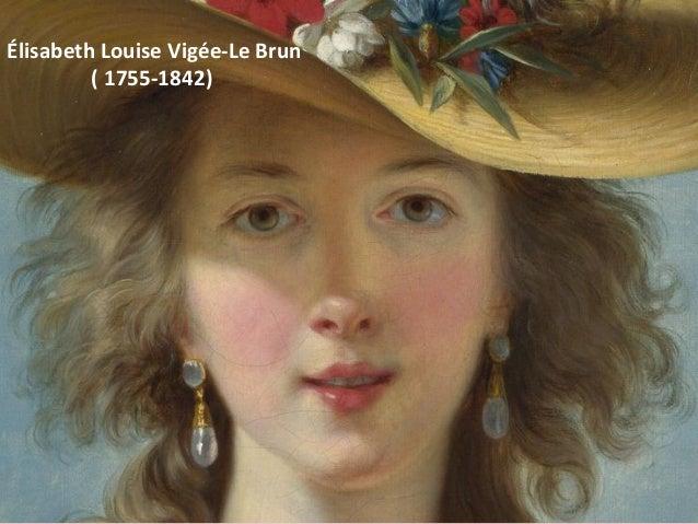 ÉlisabethLouiseVigée-LeBrun (1755-1842)