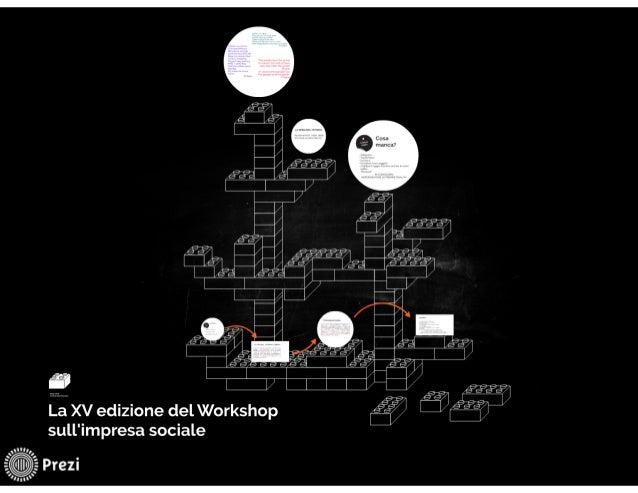 La XV edizione del Workshop sull'impresa sociale: struttura, contenuti, proposte | Elisa Chiaf