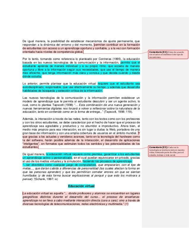 De igual manera, la posibilidad de establecer mecanismos de ajuste permanente, que respondan a la dinámica del entorno y d...
