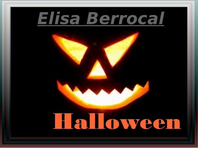 Elisa Berrocal Halloween