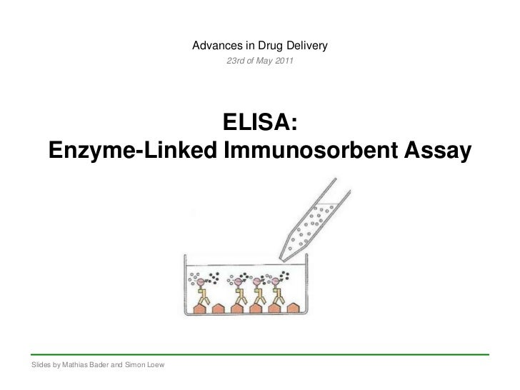 elisa assay Enzyme-linked immunosorbent assay (elisa) mary lea killian usda aphis vs national veterinary services laboratories ames, iowa.