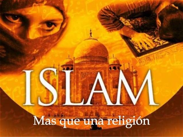   El islam surge en el año VII en la península arábiga, territorio cubierto de un inhóspito desierto que estaba habitado...