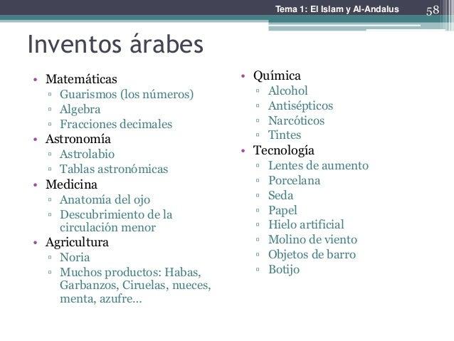 inventos arabes