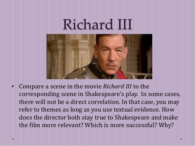 richard iii essay introduction Document type: work overview, critical essay full introduction further readings about the topic introduction richard iii suggesting that richard iii is.