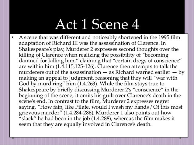 richard iii essay conscience 1 the tragedy of richard iii lies in the progressive isolation of its protagonist discuss from the very opening of the play when richard iii enters.