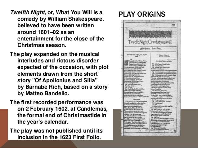 twelfth night summary short