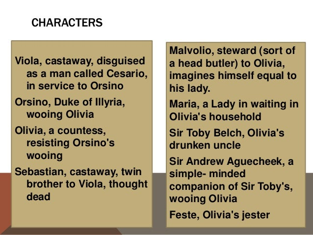 Similarities between She's the Man and the Twelfth Night