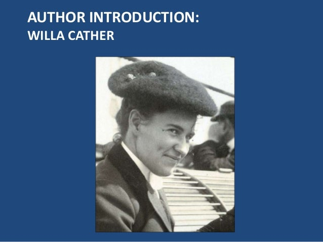 About Willa Cather