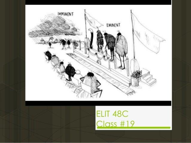 ELIT 48C Class #19