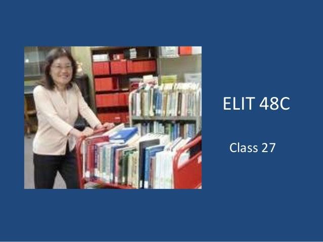 ELIT 48C Class 27