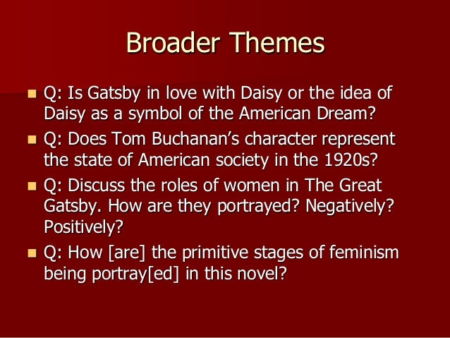 the chaos of american society in the 1920s as portrayed by f scott fitzgerald How does fitzgerald portray the corruption of the american dream in the great gatsbyin fitzgerald s great gatsby he has portrayed how the origin.