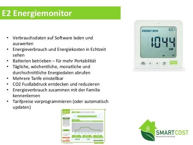 Elite Energiemonitor • Energieverbrauch und Energiekosten in Echtzeit sehen • Batterien betrieben – für mehr Portabilität ...