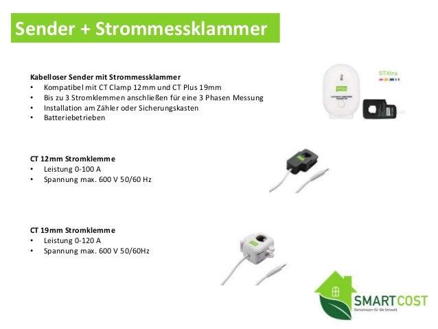 • Gerätesteuerung Schalten Sie ein Gerät oder eine Gruppe von Geräten vom Smartphone • Energieverbrauchsüberwachung Echtze...