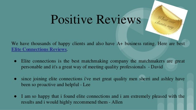 best matchmaking services reviews