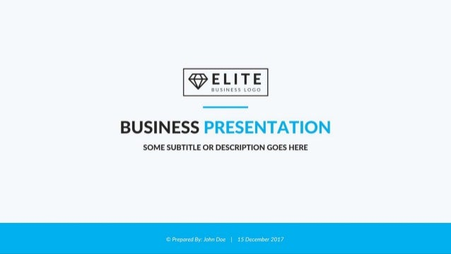 Elite Corporate Powerpoint Template Best Business Presentation Temp