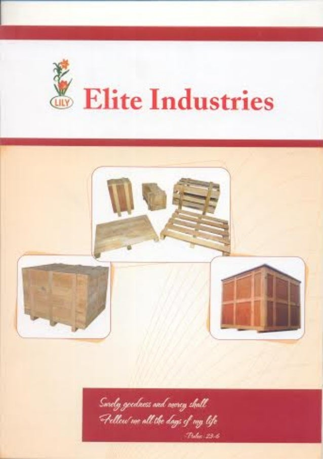 Elite Industries, Coimbatore, Wooden Packing Boxes