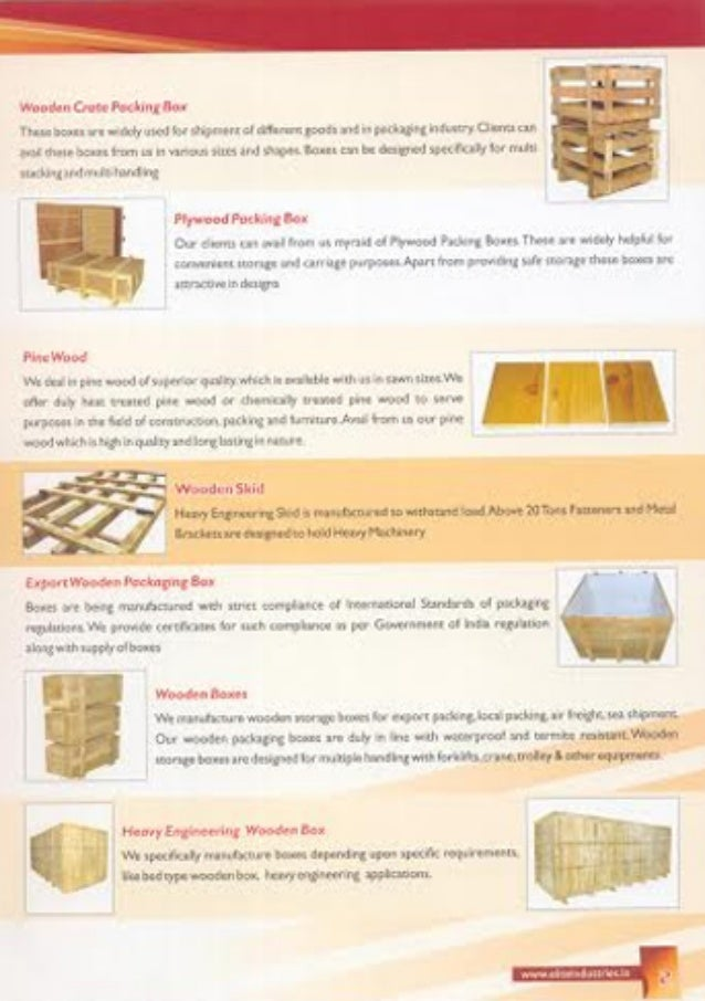Elite Industries, Coimbatore, Wooden Packing Boxes Slide 3