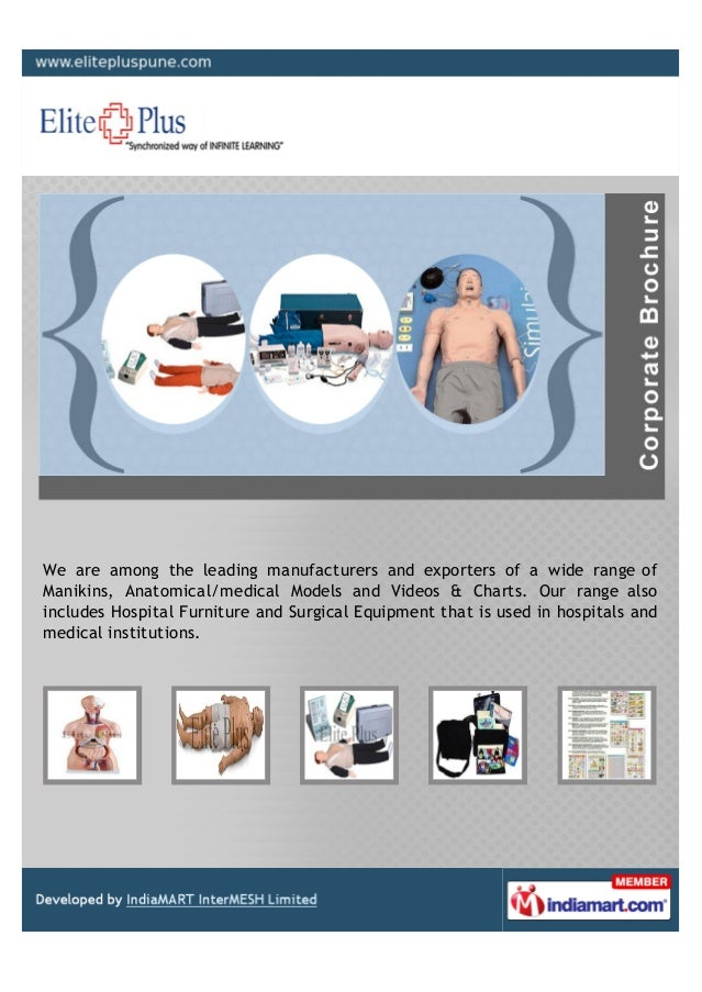 We are among the leading manufacturers and exporters of a wide range ofManikins, Anatomical/medical Models and Videos & Ch...