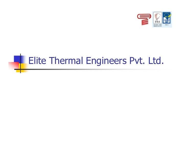 Elite Thermal Engineers Pvt. Ltd.