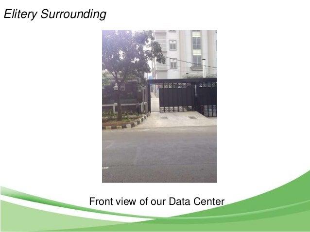 Elitery Data Center Presentation To Schneider March 4 2013