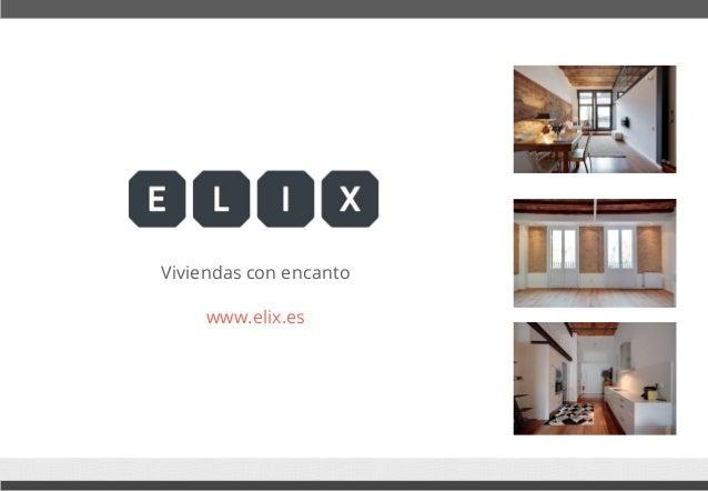 Viviendas con encanto  www.elix.es