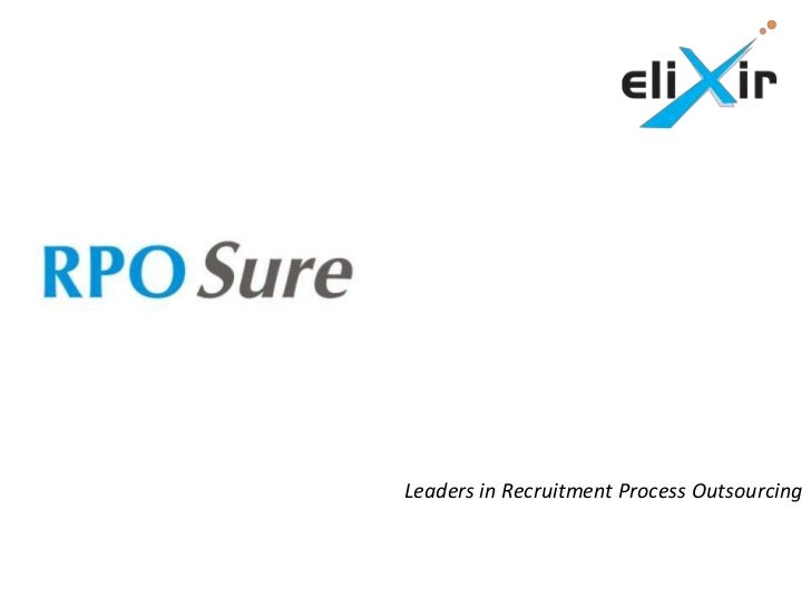 Leaders in Recruitment Process Outsourcing