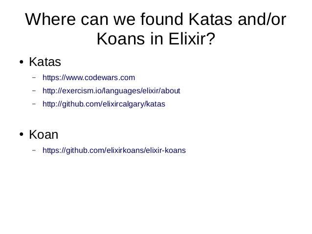 Elixir koans