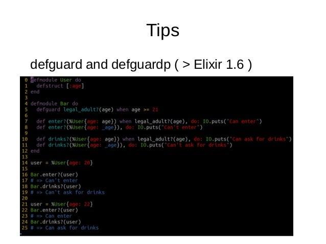 Tips .iex