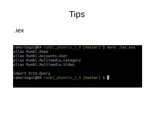Info ● Phoenix 1.4 is coming – Changed brunch for webpack – http2 support (not by default)