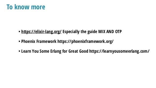 Elixir/OTP for PHP developers